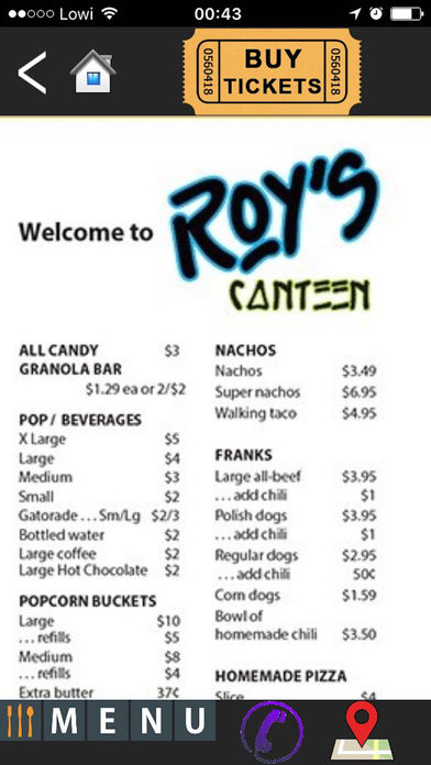 Roy's Twin Drive-In screenshot 3
