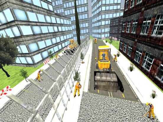 Road Roller and City Builder with Excavator screenshot 9