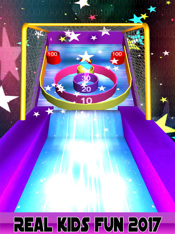 3D Flick Roller Ball Skee Arcade 2017 screenshot 6