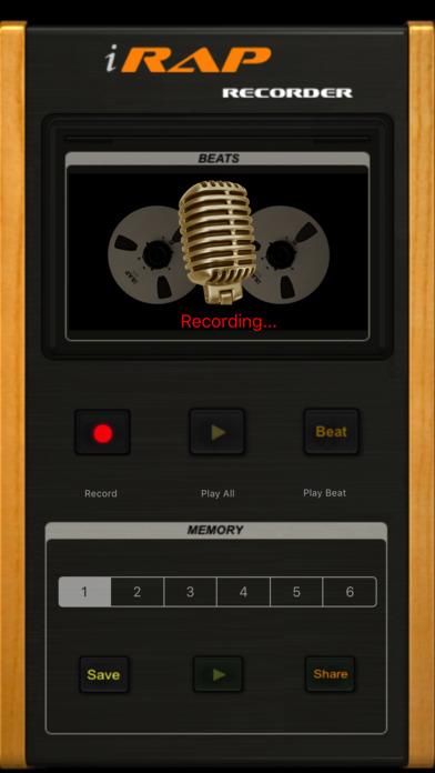 i-Rap Voice Recorder screenshot 2
