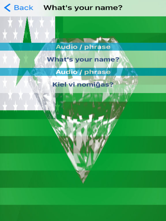 Esperanto Phrases Diamond 4K Edition screenshot 6