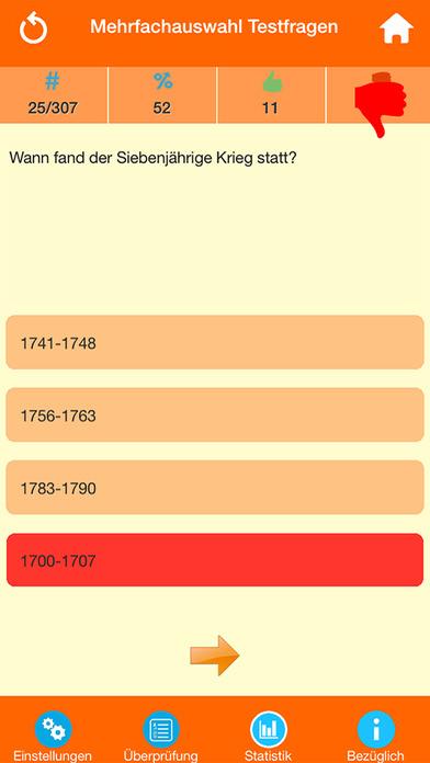 Deutsche Geschichte Quiz screenshot 3