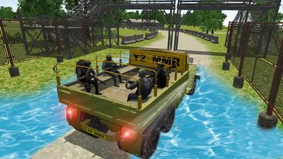 4x4 Military Jeep Driving Simulator in War Land screenshot 2