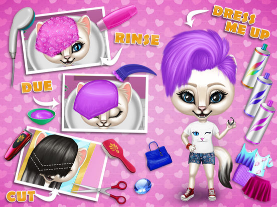 Fashion Animals - Hair Salon, Makeup & Dress Up screenshot 9