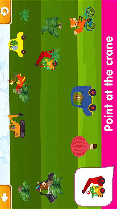 Smart Baby! Vehicles. Toddler Games for boys girls screenshot 4