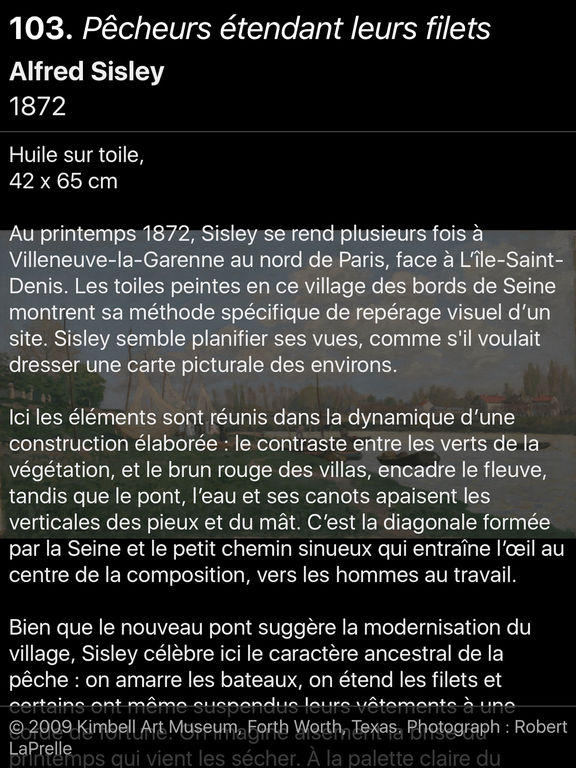 Sisley l'impressionniste screenshot 9