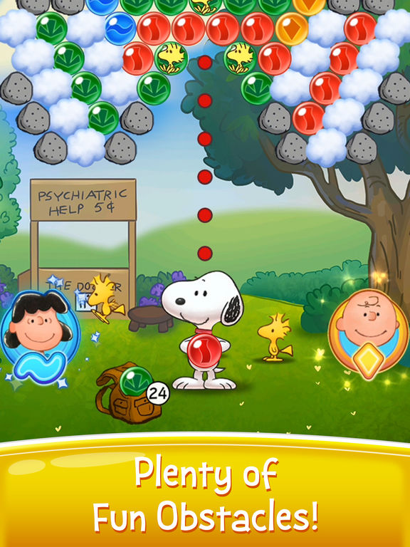Bubble Shooter - Snoopy POP! screenshot 7