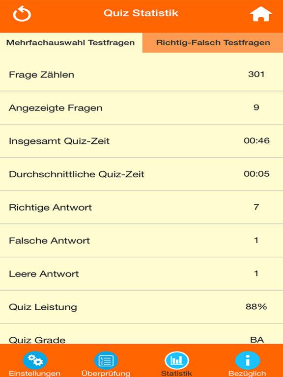 Deutschland Wissens Quiz screenshot 9