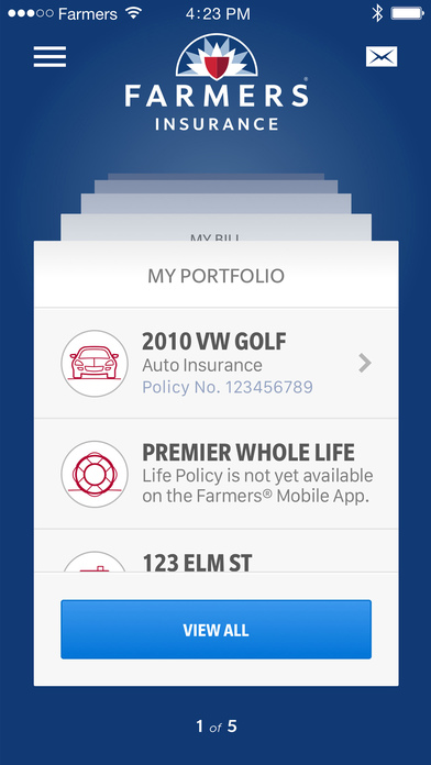 apple iphone insurance farmers insurance inc on the app 10123
