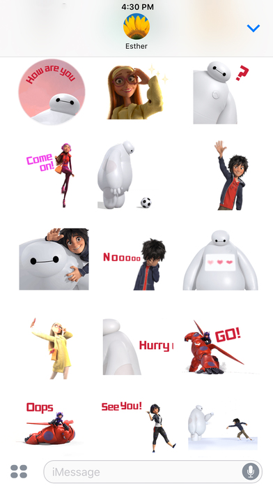 Disney Stickers: Big Hero 6 screenshot 5