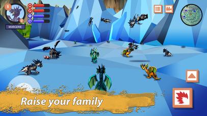 Dragon Family Simulator Full screenshot 3
