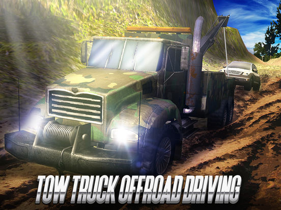 Tow Truck Offroad Driving screenshot 5