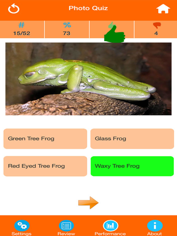 Animals : Reptiles Quiz screenshot 7