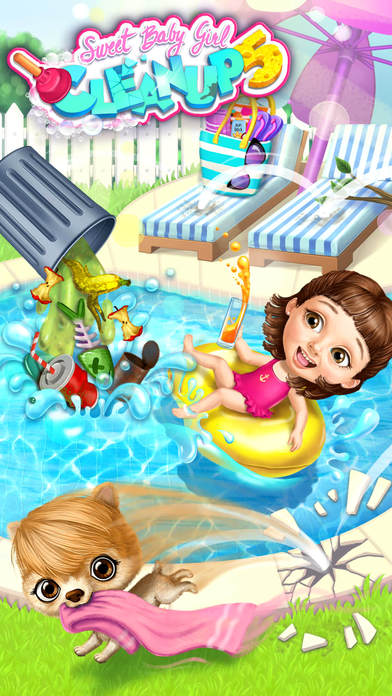 Sweet Baby Girl Cleanup 5 - No Ads screenshot 2