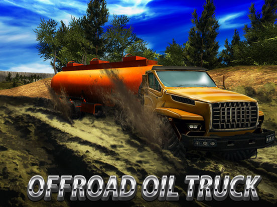 Oil Truck Offroad Driving Full screenshot 5