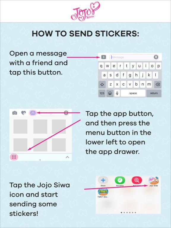 JoJo Siwa Stickers screenshot 9