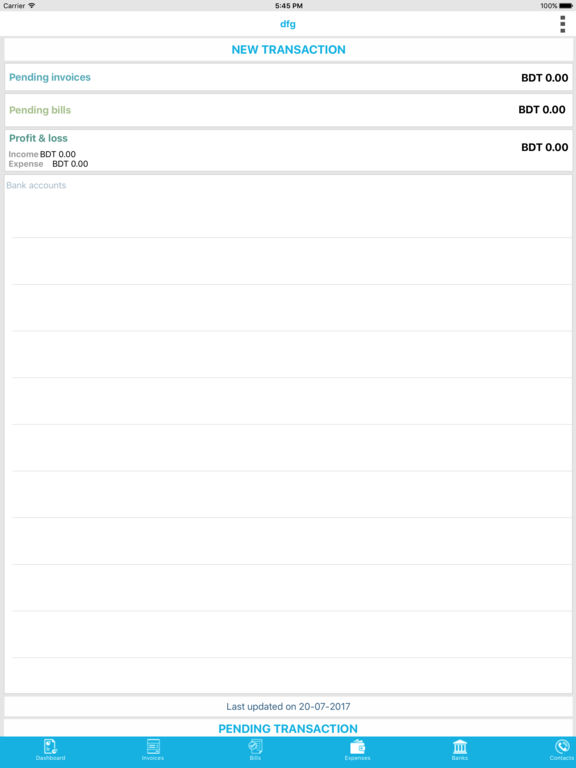 Intelio Accounting (iPad) reviews at iPad Quality Index