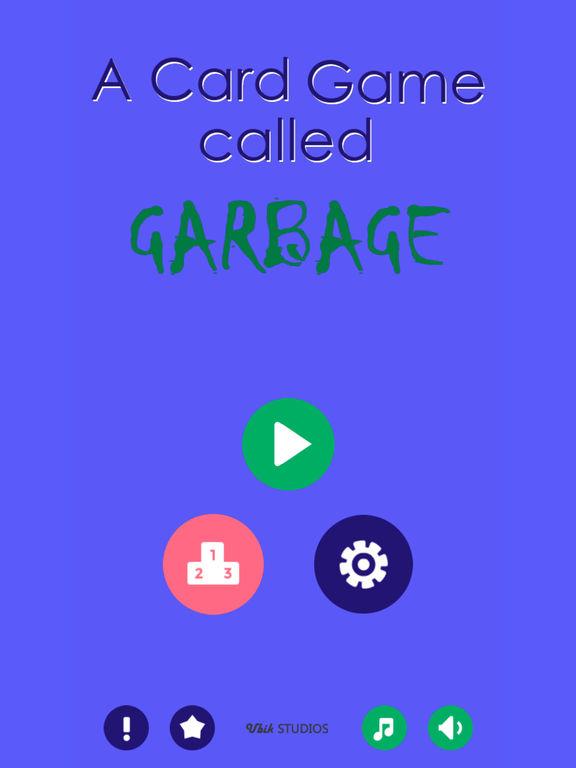 Garbage/ Trash - The Friendly Card Game screenshot 10