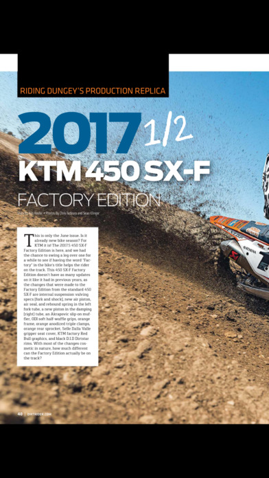 Dirt Rider Magazine screenshot 4