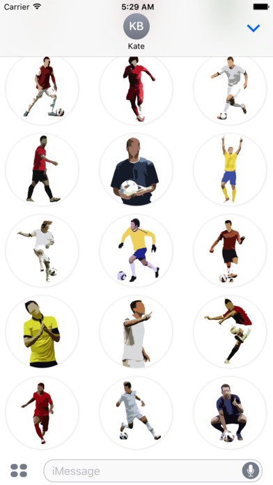 Football Master Sticker Pack screenshot 2