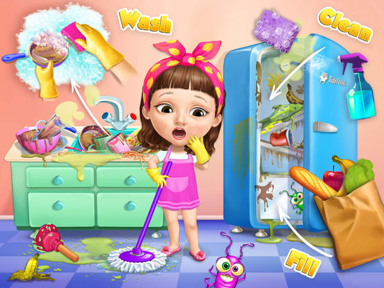 Sweet Baby Girl Cleanup 5 - No Ads screenshot 6