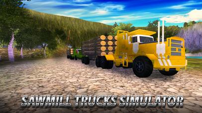 Sawmill Trucks Simulator Full screenshot 1