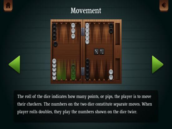 Backgammon ® screenshot 8