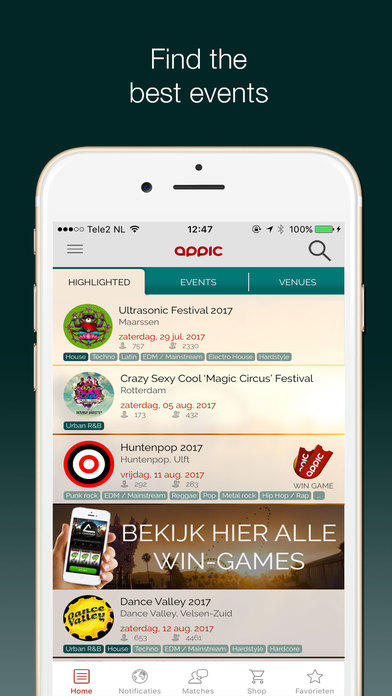 how to do a screenshot on iphone appic events festivals amp more on the app 3656