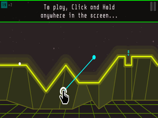 Arcade Golf: NEON screenshot 8