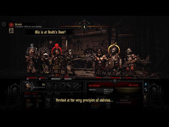 Darkest Dungeon:Tablet Edition screenshot 1