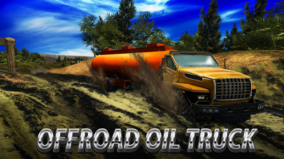 Oil Truck Offroad Driving Full screenshot 1
