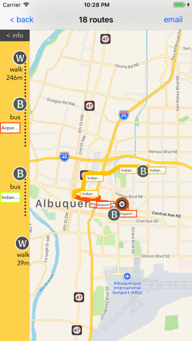 Albuquerque Public Transport Guide screenshot 2