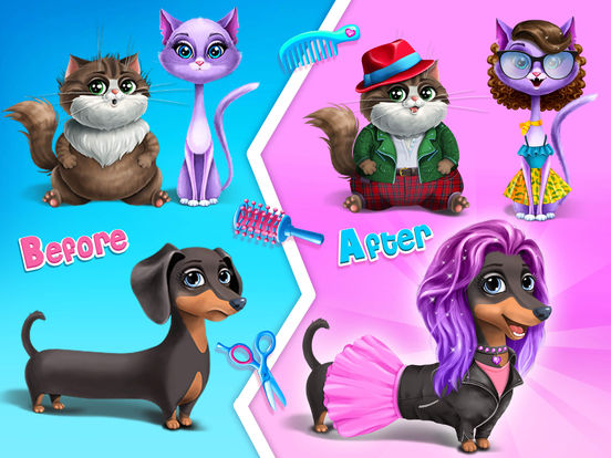 Farm Animals Makeover - Cute Virtual Pet Salon screenshot 7