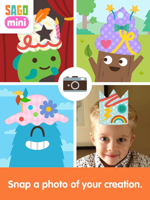 Sago Mini Hat Maker screenshot 8