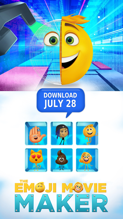 The Emoji Movie Stickers screenshot 5