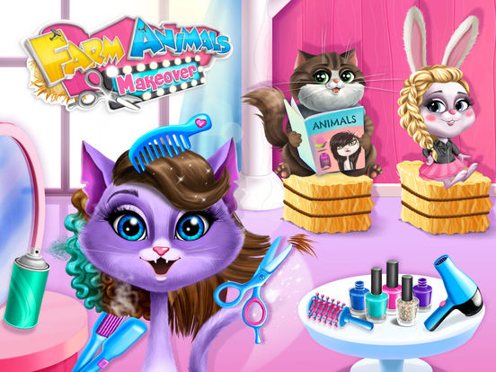 Farm Animals Makeover - Cute Virtual Pet Salon screenshot 6