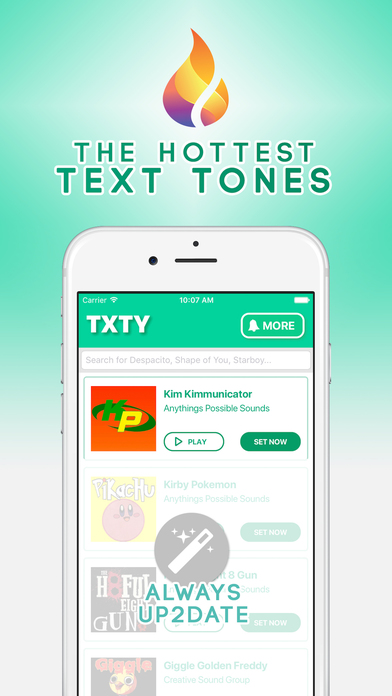 iphone text tones txty text tones for iphone app android apk 12383