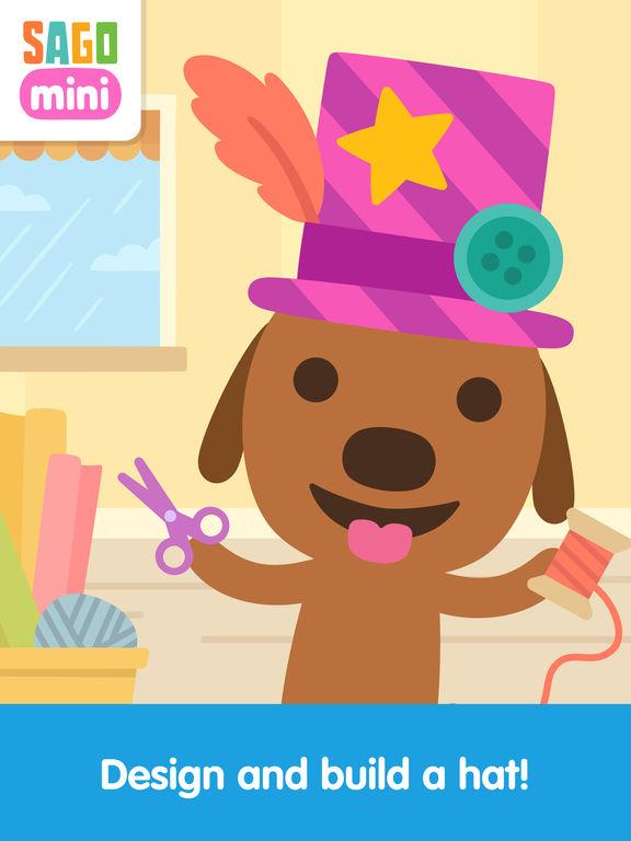 Sago Mini Hat Maker screenshot 6