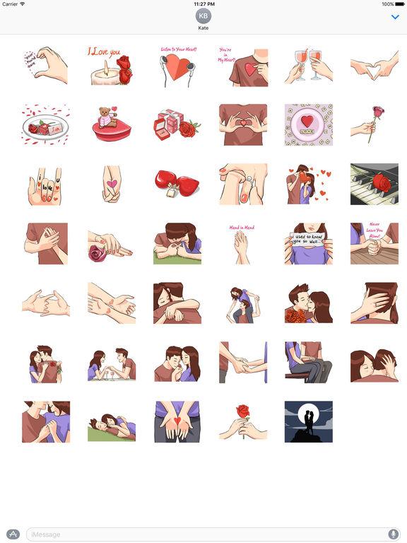LoveMoji - Signs of Love Sticker screenshot 4