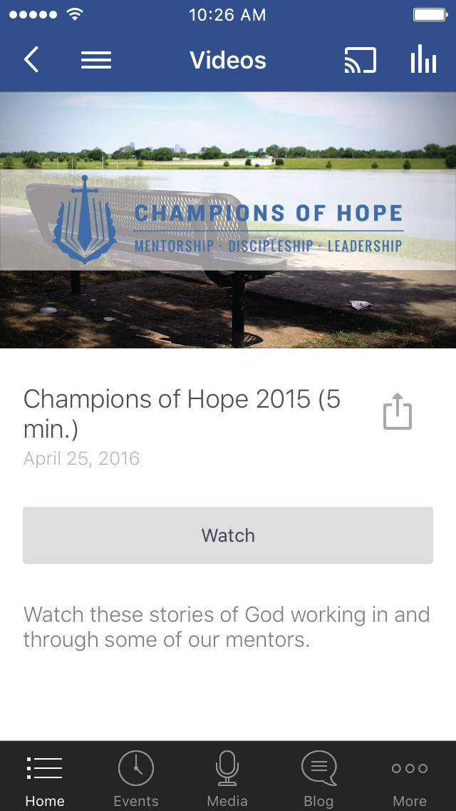 Champions of Hope Dallas screenshot 2