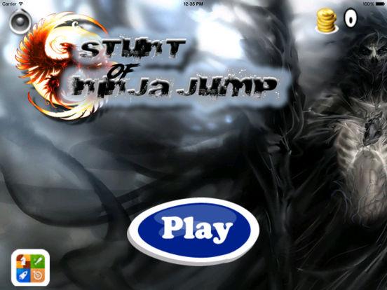 A Stunt Of Ninja Jump - Awesome Warrior Doodle Swint Game screenshot 6