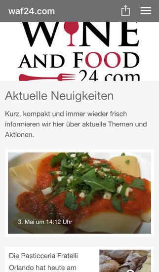 wineandfood24.com screenshot 1