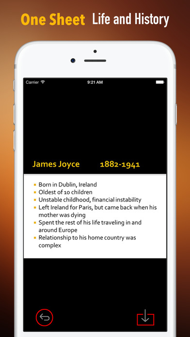James Joyce Biography and Quotes: Life with Documentary screenshot 2