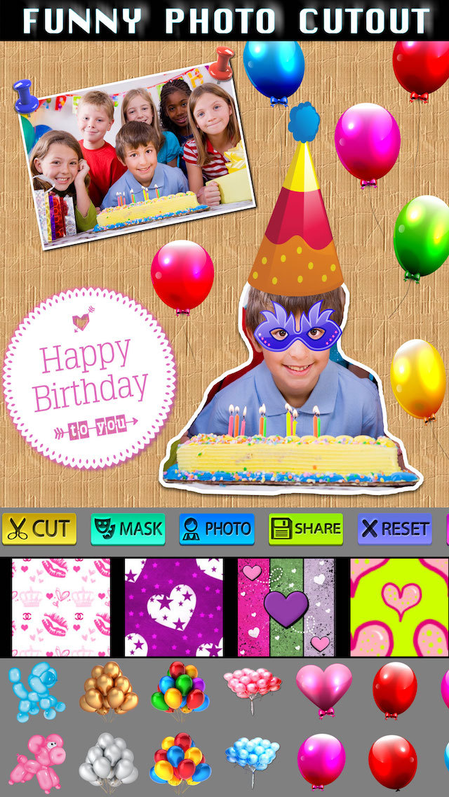 Birthday Photo Scrapbook screenshot 4