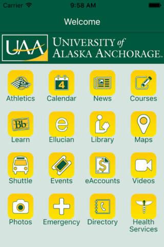 UAA Mobile - náhled