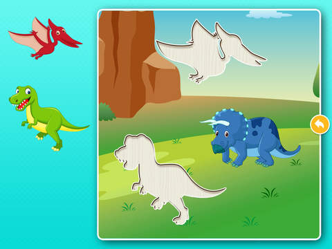 Dinosaur Games: Puzzle for Kids & Toddlers screenshot 9