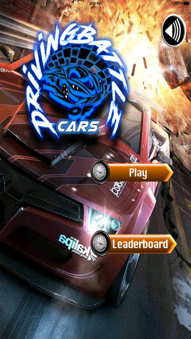 Battle Driving Of Cars Pro - Best Speed Game screenshot 1