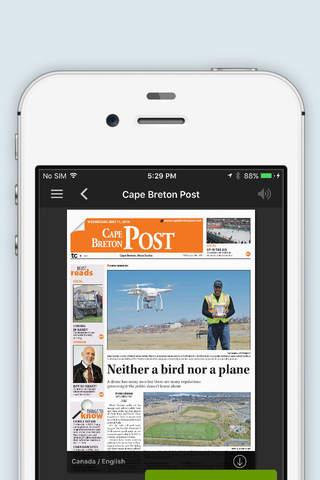Cape Breton Post - náhled