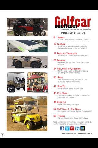 Golf Car Outfitter - náhled