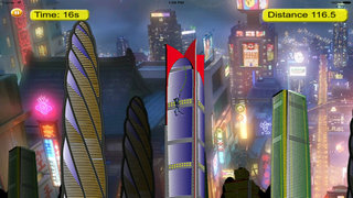 Rope Swing Girl Hero - Fly and Jump in the City screenshot 5